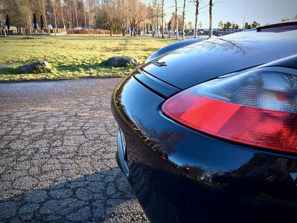 986 Porsche spoileri