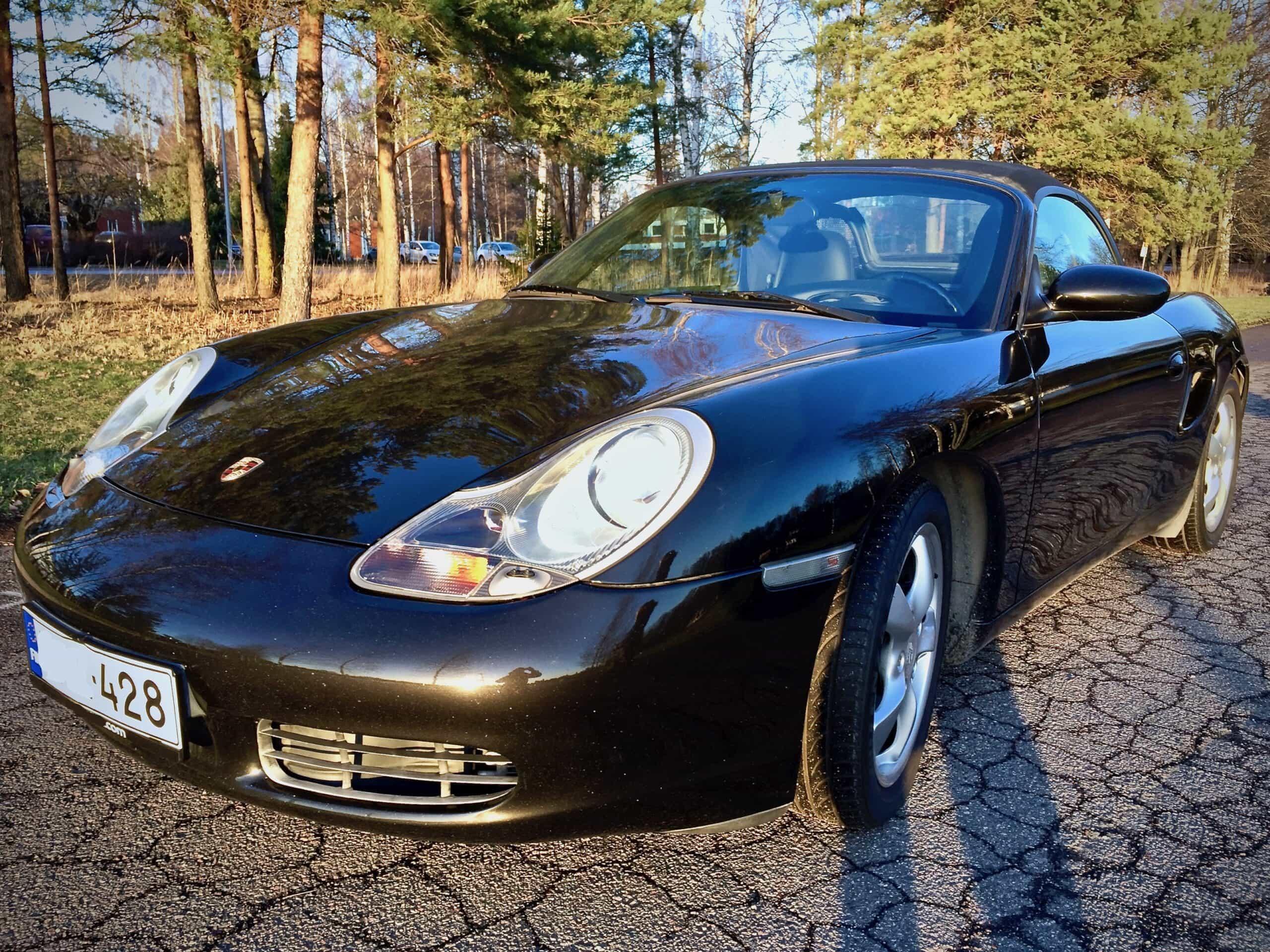 Porsche Boxster kokemuksia