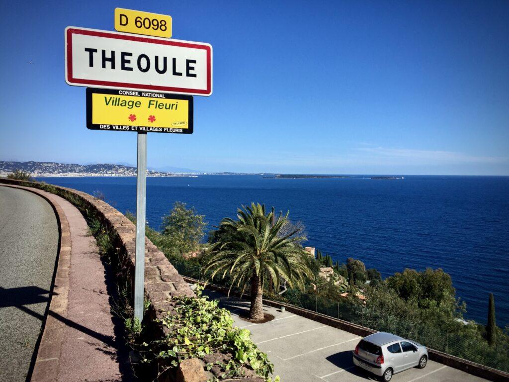 Theoule-sur-Meriin päättyy parhaat tiet