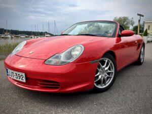 Myytävänä 2003 Porsche 986 Boxster 2.7 manuaali