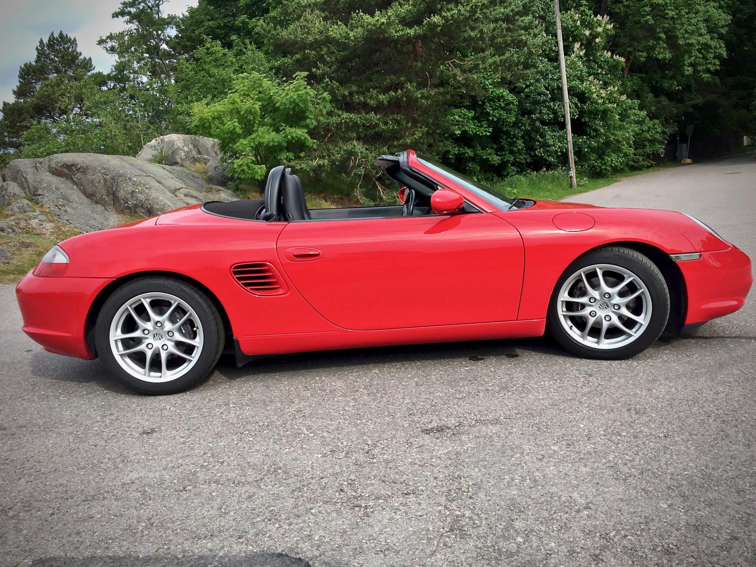 Myytävänä Porsche Boxster Os