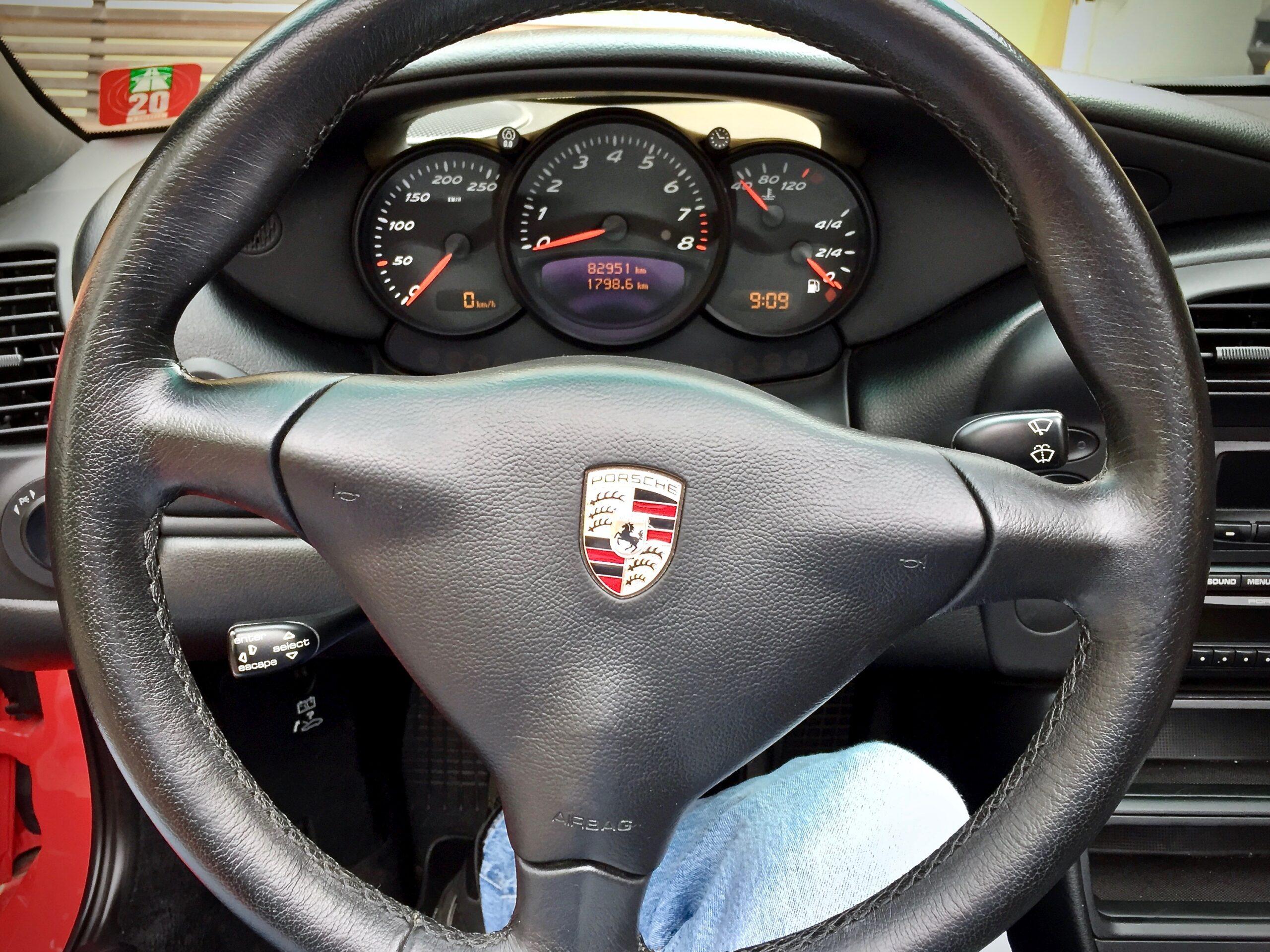 Porsche 986 Boxster 2.7 facelift