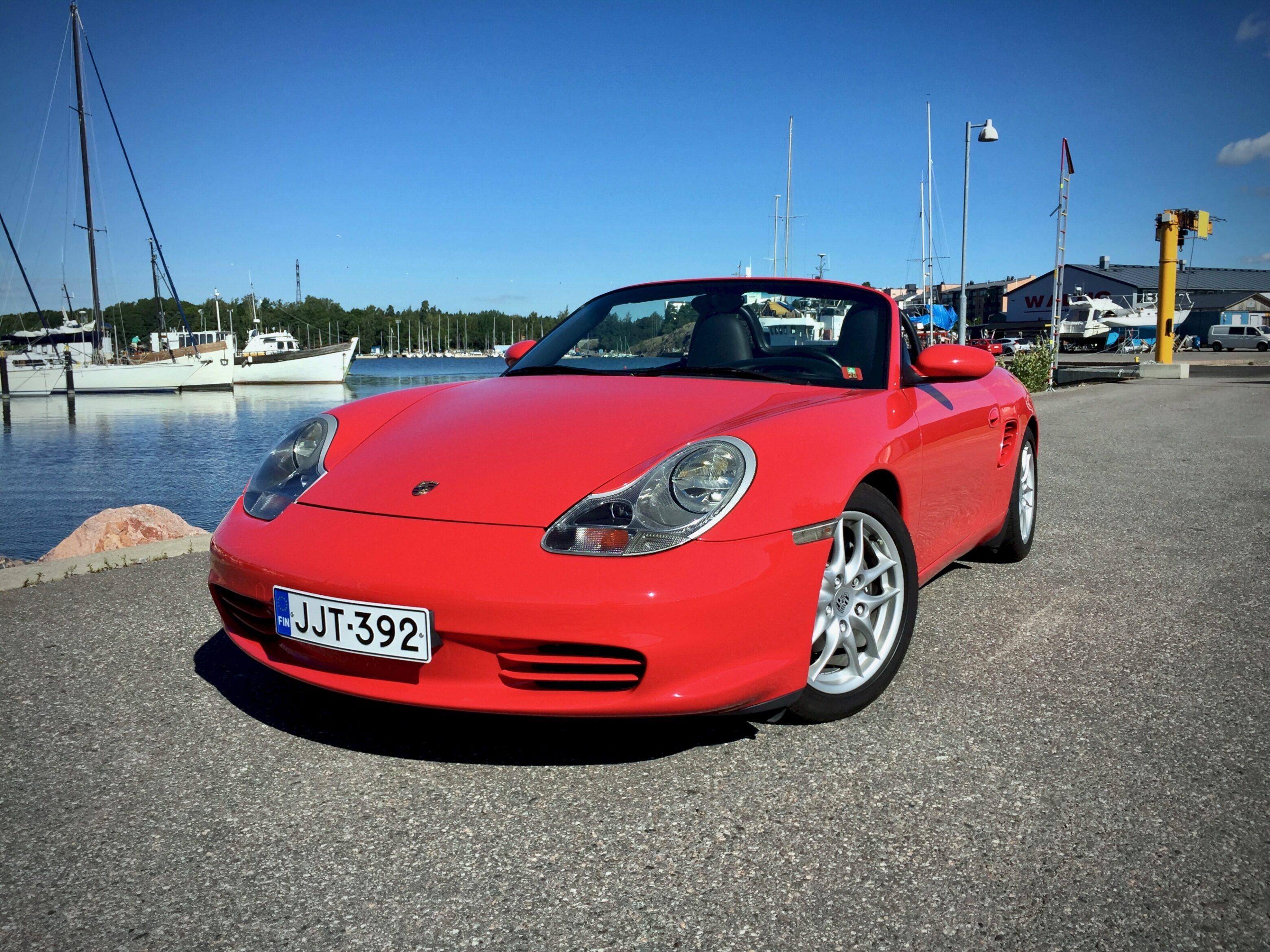 Myytävänä 2003 Porsche Boxster 986 Facelift manuaali 2.7